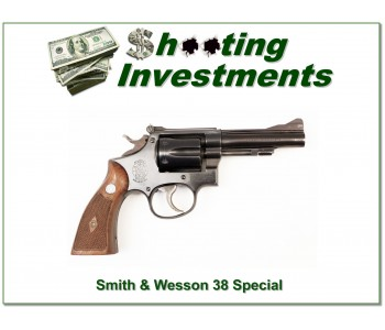 Smith & Wesson 38 Special 1952 Exc Cond!