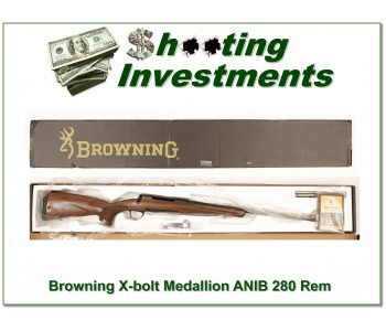 Browning X-bolt Medallion 280 Rem ANIB