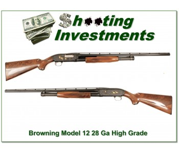 Browning Model 12 High Grade 28 Gauge XX Wood!