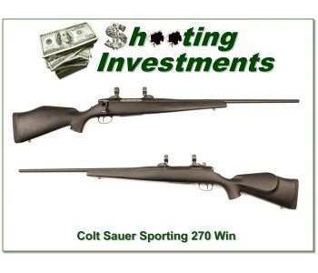 Colt Sauer Sporting in 270 Winchester!