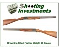 Browning Citori Superlight 20 Gauge as new!
