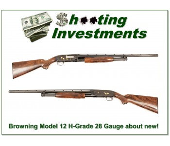Browning Model 12 28 Gauge High Grade