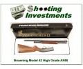 Browning Model 42 High Grade and Grade 1 NIB Set!