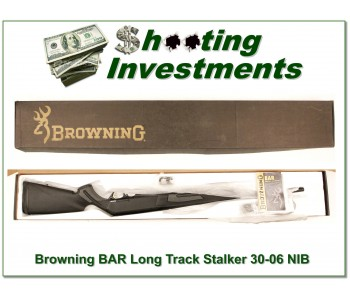 Browning BAR LongTrac Stalker 30-06 22in NIB