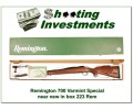 Remington 700 Varmint Special 223 Remington!