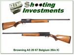 Browning A5 20 gauge 67 Belgium 26in IC